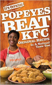 Popeyes Louisiana Kitchen Commercial Lady